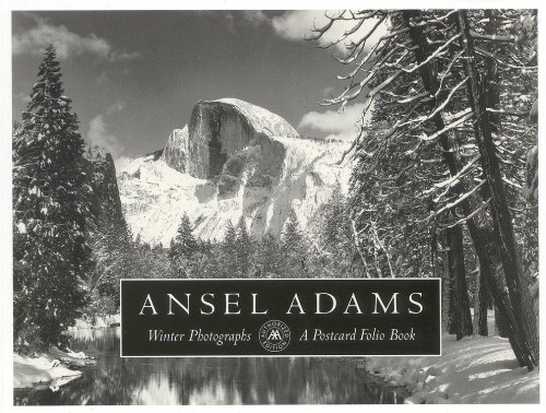 9780821221358: Ansel Adams' Postcards - Winter Photographs