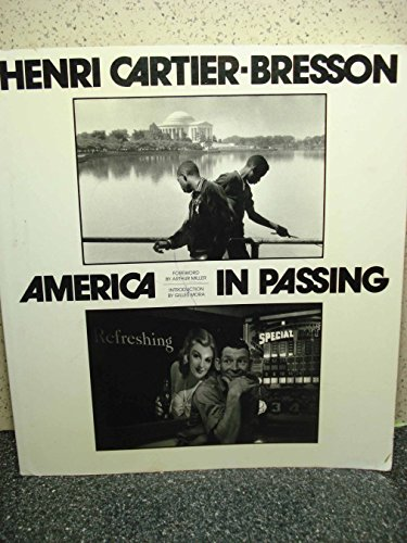 America in Passing (W/ TLS SIGNED): Cartier-Bresson, Henri