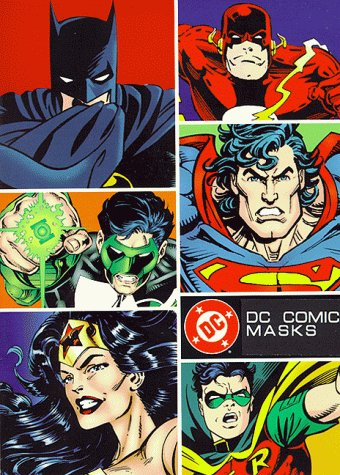 9780821224342: DC Comics Masks: Nine Masks of DC Comics Heroes and Villains to Assemble and Wear