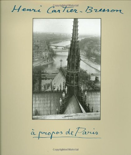 9780821224960: A Propos De Paris