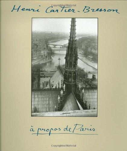 9780821224960: Henri Cartier-Bresson: À Propos de Paris