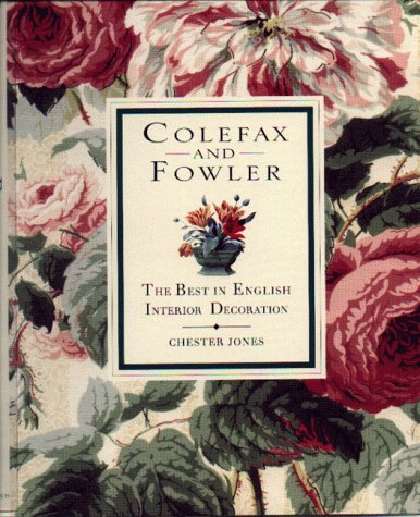 9780821226520: Colefax & Fowler: The Best in English Interior Decoration