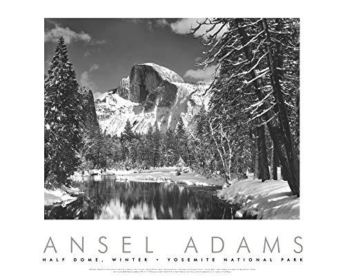 9780821226605: Half Dome, Merced River, Winter, Yosemite National Park