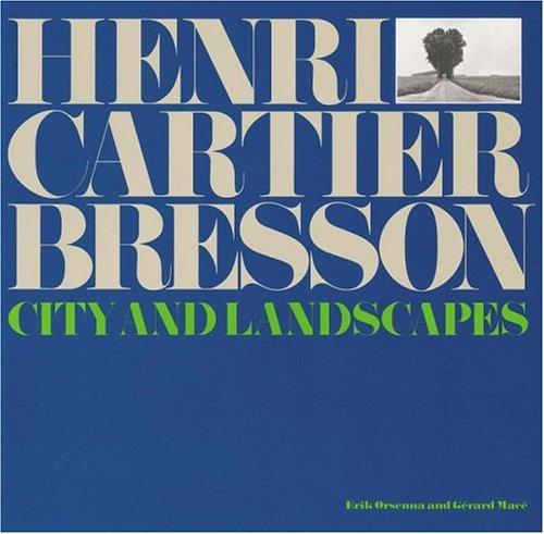 9780821227572: Henri Cartier Bresson: City and Landscapes