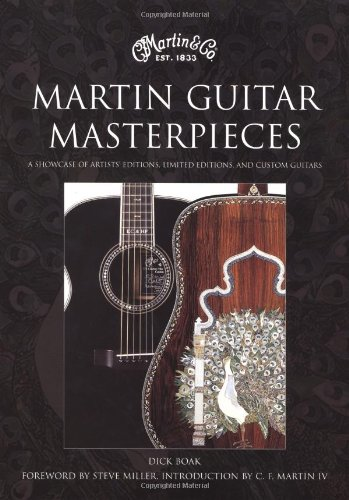 9780821228357: Martin Guitar Masterpieces: A Showcase of Artists' Editions, Limited Editions, and Custom Guitars