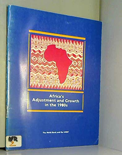 Africa's adjustment and growth in the 1980s