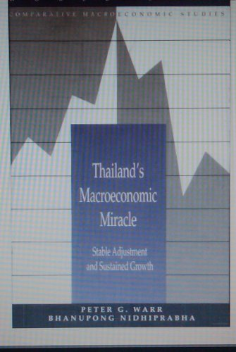 9780821326541: Thailand's Macroeconomic Miracle: Stable Adjustment and Sustained Growth (World Bank Comparative Macroeconomic Studies)