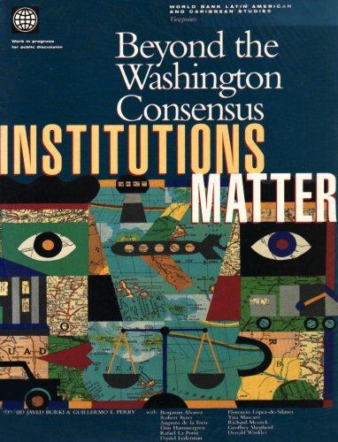 9780821342824: Beyond the Washington Consensus: Institutions Matter (Latin America and Caribbean Studies)
