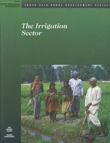 9780821344644: The Irrigation Sector (South Asia Rural Development Series)