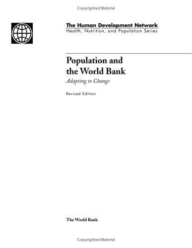 9780821346631: Population and the World Bank: Adapting to Change (Health, Nutrition & Population Series)