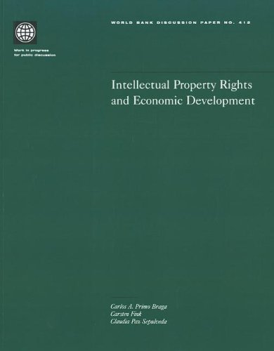 9780821347089: Intellectual Property Rights and Economic Development (World Bank Discussion Papers)