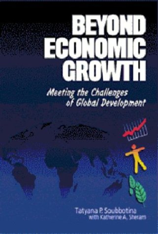 9780821348536: Beyond Economic Growth: Meeting the Challenges of Global Development (Wbi Learning Resources Series)