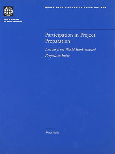 Participation in Project Preparation: Lessons from World: Trond Vedeld
