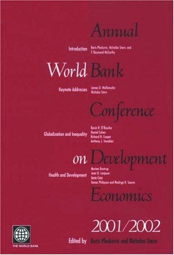 9780821350447: Annual World Bank Conference on Development Economics 2001/2002 (Abcde Annual World Bank Conference on Development Economics)