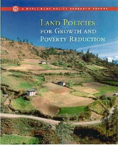 9780821350713: Land Policies for Growth and Poverty Reduction (Policy Research Reports)