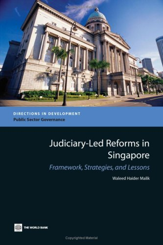 9780821353769: Judiciary-Led Reforms in Singapore: Framework, Strategies, and Lessons (Directions in Development)