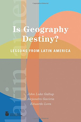 9780821354513: Is Geography Destiny?: Lessons from Latin America (Latin America Development Forum)