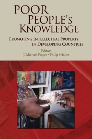 9780821354872: Poor People's Knowledge: Promoting Intellectual Property in Developing Countries (Trade and Development)