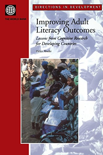 9780821354933: Improving Adult Literacy Outcomes: Lessons from Cognitive Research for Developing Countries (Directions in Development)