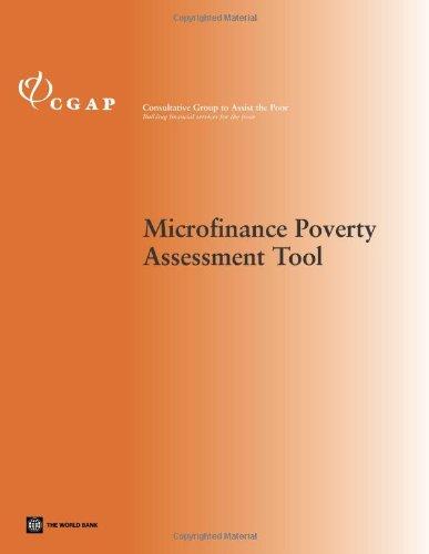 Microfinance Poverty Assessment Tool (Technical Tools): Zeller, Manfred, Henry,