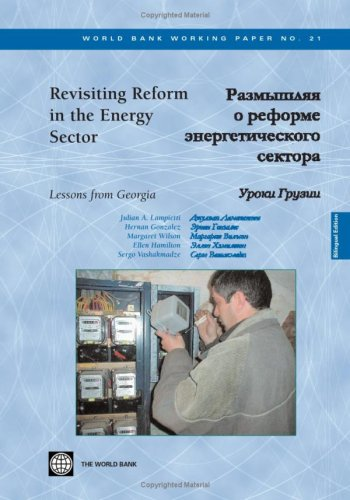 9780821356890: Revisiting Reform in the Energy Sector: Lessons from Georgia -- Bilingual (World Bank Working Papers) (English and Russian Edition)