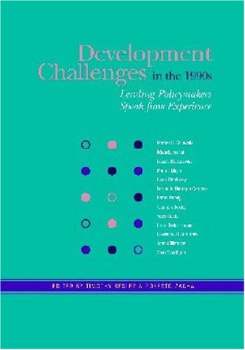 DEVELOPMENT CHALLENGES IN THE 1990S-LEADING POLICY MAKERS
