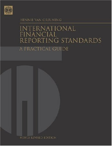9780821359105: International Financial Reporting Standards: A Practical Guide
