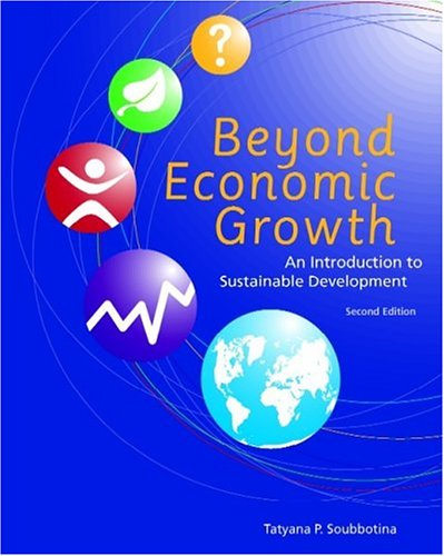 9780821359334: Beyond Economic Growth: An Introduction to Sustainable Development. (WBI Learning Resources)