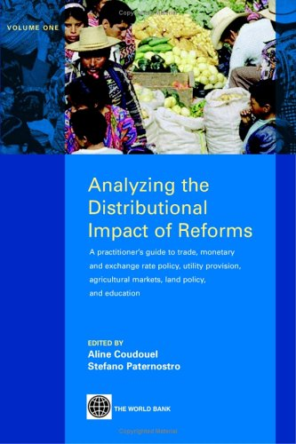 Analyzing the Distributional Impact of Reforms: A: Aline Coudouel, Stefano