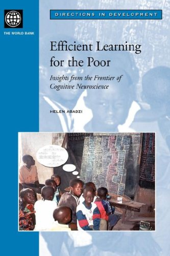 9780821366882: Efficient Learning for the Poor: Insights from the Frontier of Cognitive Neuroscience (Directions in Development)