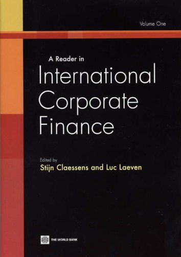 9780821366981: A Reader in International Corporate Finance, Volume 1: v. 1