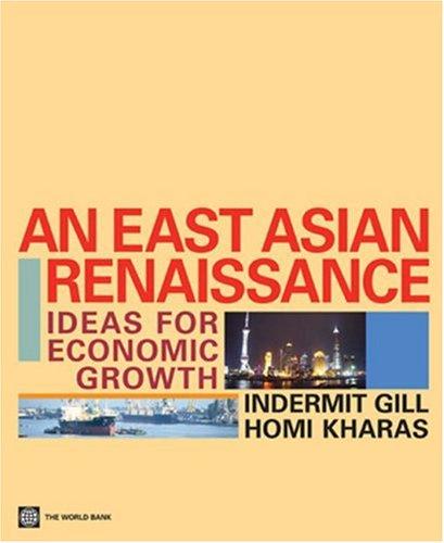 9780821367476: An East Asian Renaissance: Ideas for Economic Growth