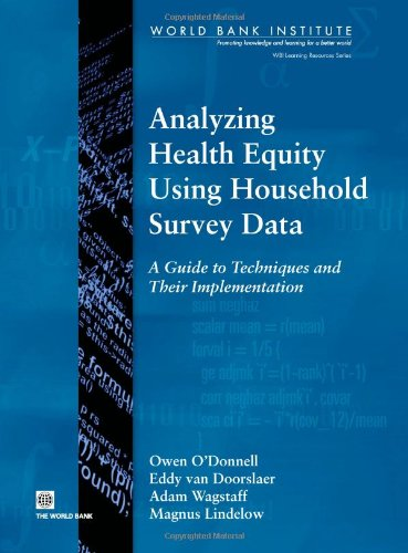 9780821369333: Analyzing Health Equity Using Household Survey Data: A Guide to Techniques and their Implementation (WBI learning resources series)