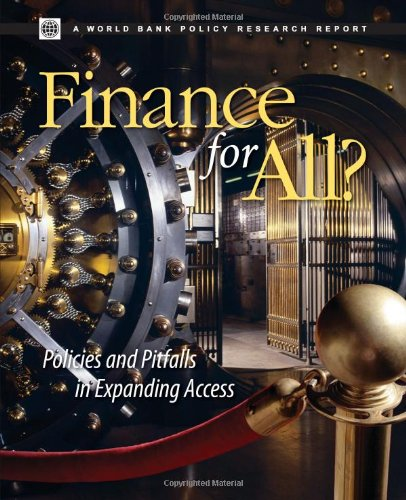 9780821372913: Finance for All?: Policies and Pitfalls in Expanding Access (Policy Research Reports)