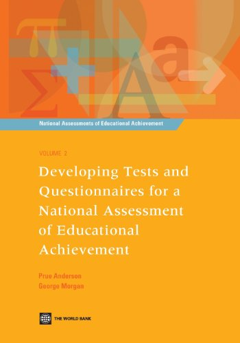 9780821374979: Developing Tests and Questionnaires for a National Assessment of Educational Achievement