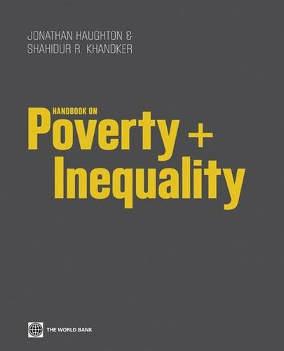 9780821376133: Handbook on Poverty + Inequality (World Bank Training Series)