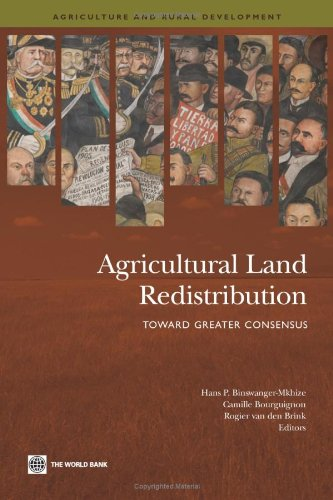 9780821376270: Agricultural Land Redistribution: Toward Greater Consensus (Agriculture and Rural Development Series)