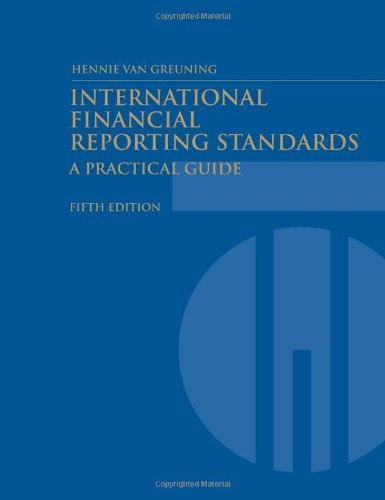 9780821377277: International Financial Reporting Standards: A Practical Guide (World Bank Training Series)