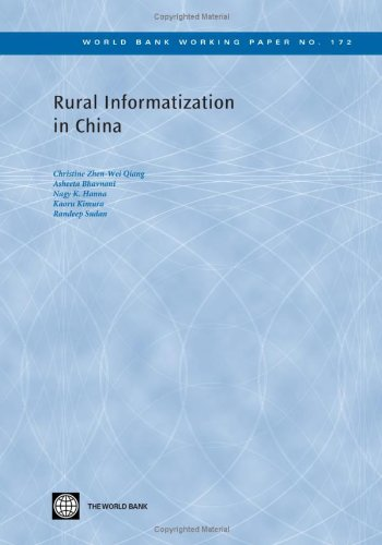 9780821380185: Rural Informatization in China (World Bank Working Papers)