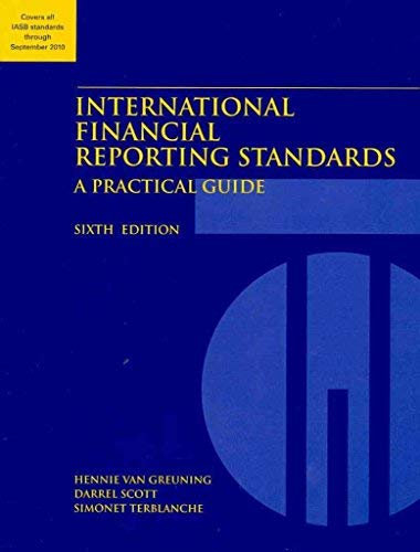 9780821381069: International Financial Reporting Standards: A Practical Guide