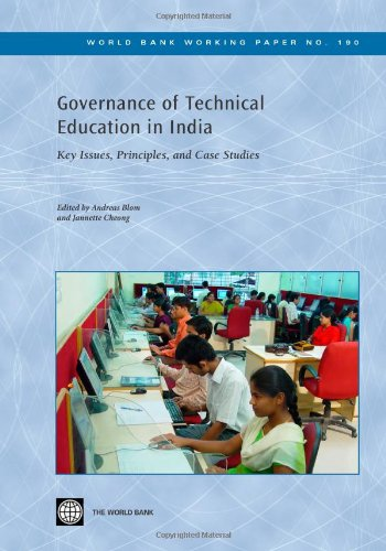 Governance of Technical Education in India Key Issues, Principles, and Case Studies World Bank ...