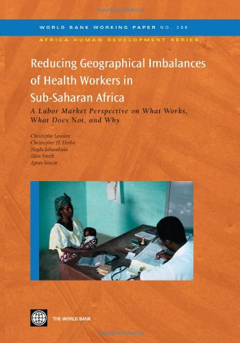 Reducing Geographical Imbalances of the Distribution of: Christophe Lemiere, Christopher