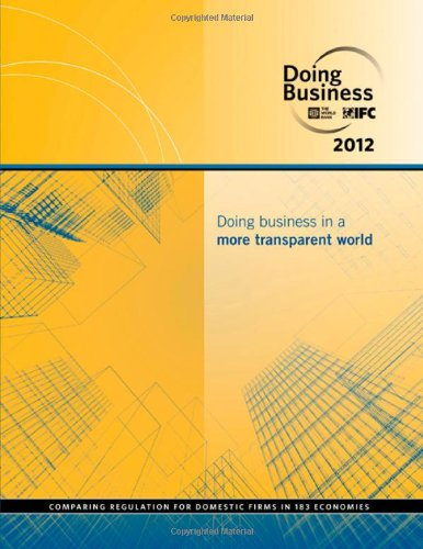 9780821388334: Doing Business 2012: Doing Business in a More Transparent World