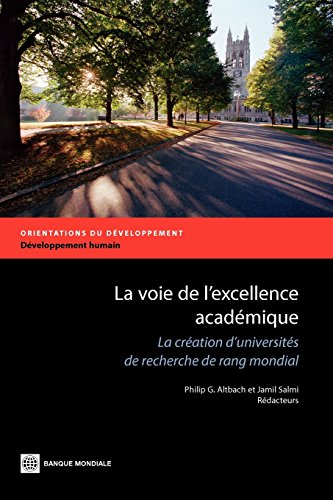 9780821389522: La Voie de L'Excellence Academique (Directions in Development - Human Development)