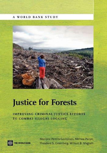 9780821389782: Justice for Forests: Improving Criminal Justice Efforts to Combat Illegal Logging (World Bank Studies)