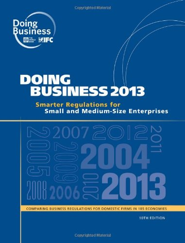 9780821396155: Doing Business 2013: Smarter Regulations for Small and Medium-Size Enterprises