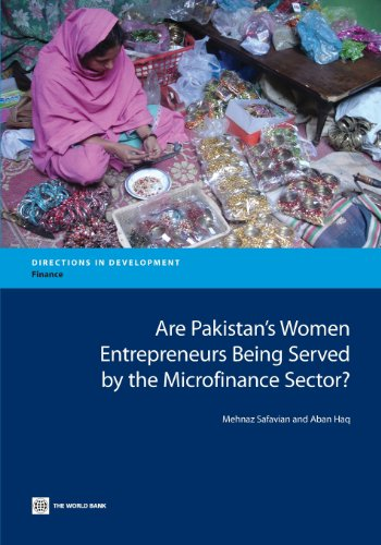 9780821398333: Are Pakistan's Women Entrepreneurs Being Served by the Microfinance Sector? (Directions in Development)