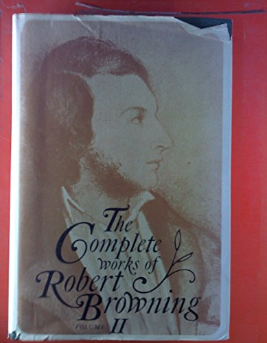 9780821400746: 2: The Complete Works of Robert Browning Volume II: With Variant Readings And Annotations: Stafford Sordello (Complete Works Robert Browning)