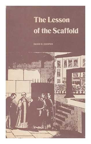 The Lesson of the Scaffold: The Public Execution Controversy in Victorian England