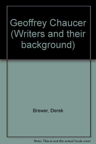 9780821401835: Geoffrey Chaucer (Writers and their background)